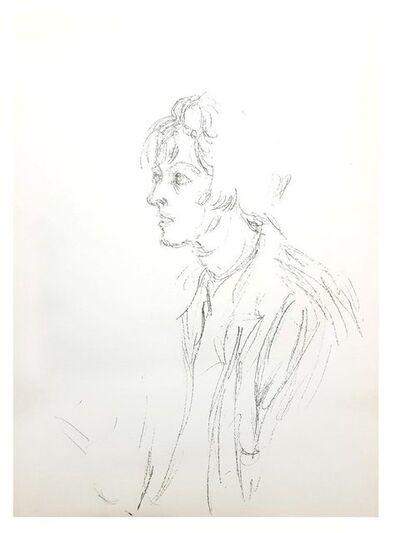 Alberto Giacometti, 'Alberto Giacometti - Man - Original Lithograph', 1964