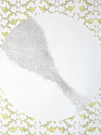 Kiki Gaffney, 'Migration Pattern #1, Yellow', 2015