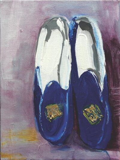 Claudia Baez, 'Patti Smith Land 250: Robert's Slippers, 2002', 2018