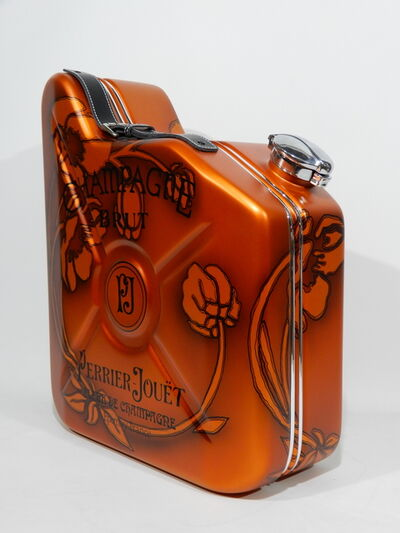 "Erik Salin, 'Gas Can ""Perrier Jouët Champagne""', 2018"