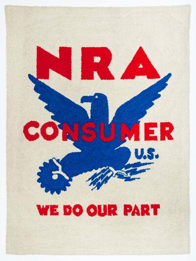 Dorothy Grebenak, 'NRA Tapestry (National Recovery Administration)', 1963