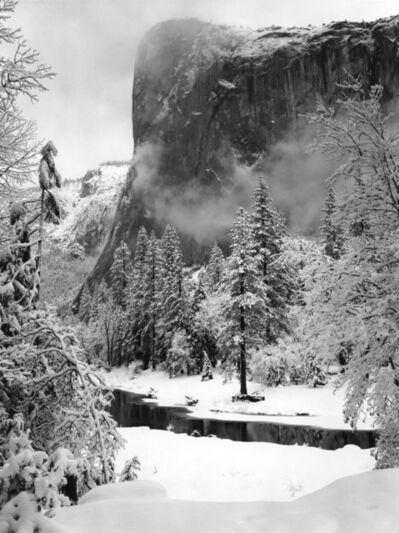 Ansel Adams, 'El Capitan, Sunrise, Winter, Yosemite National Park, California', 1948