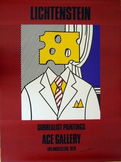 Roy Lichtenstein, 'Poster: Ace Gallery'