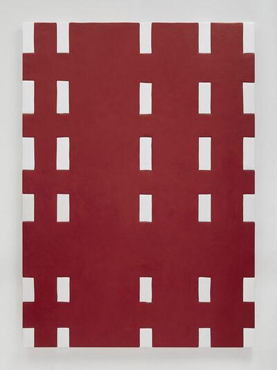 Sadie Benning, 'Red and white blanket', 2015