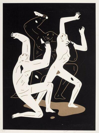 Cleon Peterson, 'Heathens (Black)', 2017