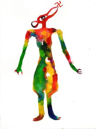 Wole Lagunju, 'Goddess III', 2017