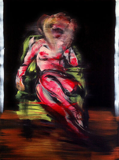 Bill Dunlap, 'Nude in Green Chair ', 2016