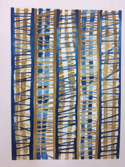 Katia Santibañez, 'A World in Blue and Gold ', 2011