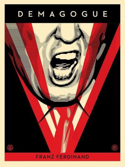 Shepard Fairey, 'Demagogue (Trump)', 500