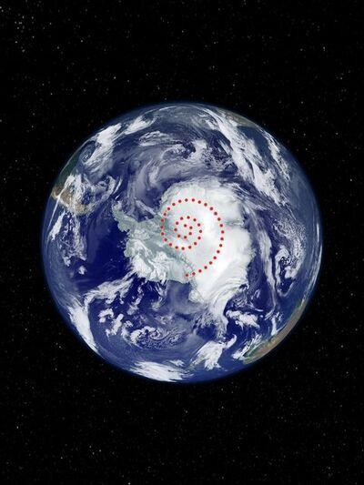 Lita Albuquerque, 'South Pole Activation ', 2014