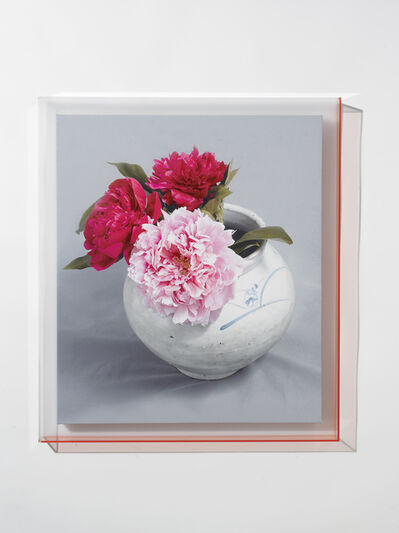 Hee Jeong Jang, 'Arrangement in Pink, grey, white', 2015