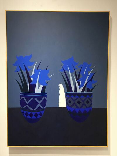 Harley Lafarrah Eaves, 'Good Mourning to You (Blue)', 2016