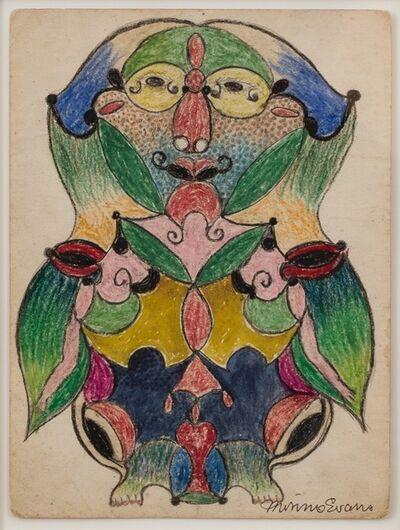 Minnie Evans, 'Untitled (Figure)', 1947-1950