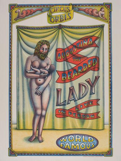 Beauvais Lyons, 'Circus Orbis: Augustina the Bearded Lady', 2017