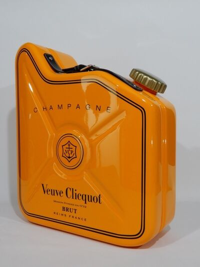 "Erik Salin, 'Gas Can ""Veuve Clicquot""', 2016"