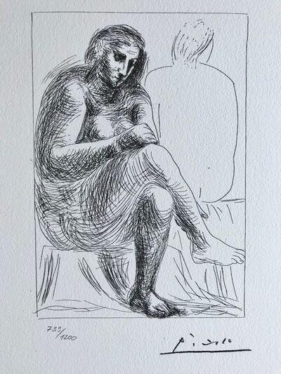 Pablo Picasso, 'Femme nue pensive (Suite Vollard Planche II)', 1973