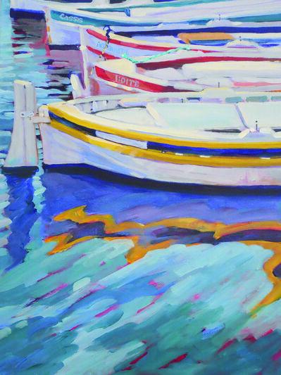 Kathy Dana, 'Boats of Cassis'