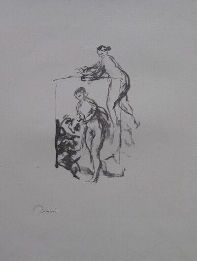 Pierre-Auguste Renoir, ' - Femme au Cap de Vigne-, 3 variante', 1904