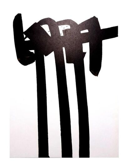 Pierre Soulages, 'Pierre Soulages - Original Lithograph', 1970