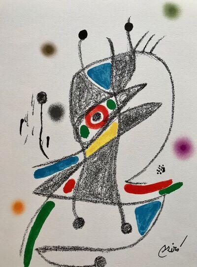 Joan Miró, 'Maravillas con varaciones acrósticas 2', 1975