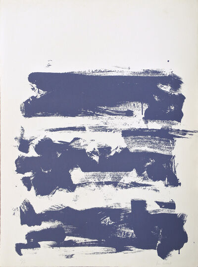 Joan Mitchell, 'Champs (Grey)', 1990