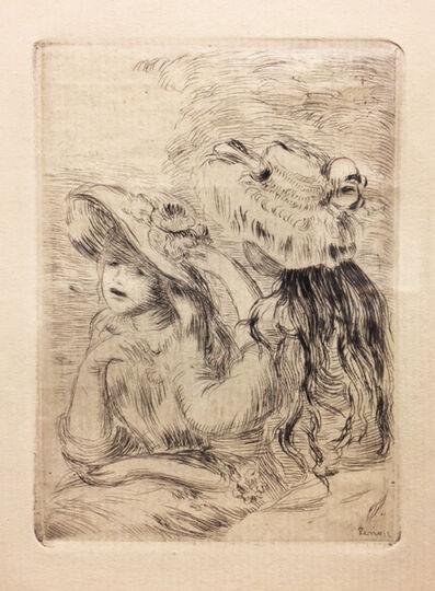 Pierre-Auguste Renoir, 'Le Chapeau Epingle', 1910