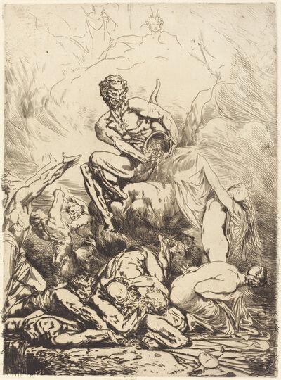 François-Nicolas Chifflart, 'The Silver Devil', 1865
