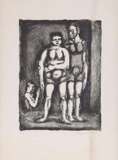 Georges Rouault, 'La Lutteuse', 1928