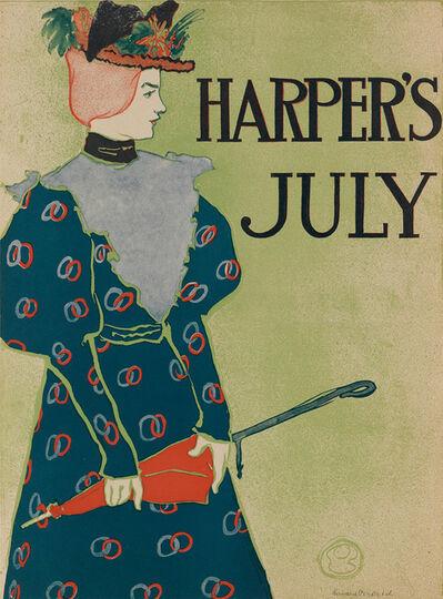 Edward Penfield, 'Harper's July 1896', 1896
