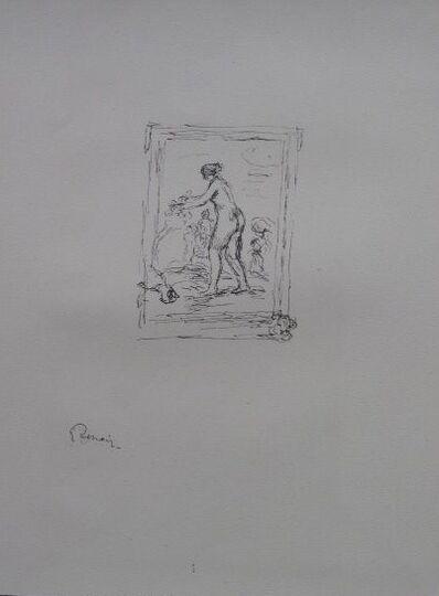 Pierre-Auguste Renoir, 'Femme Au Cap De Vigne - 2nd variante', 1904