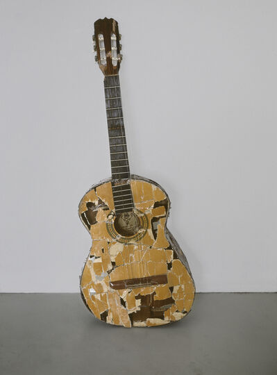 Sofia Hultén, 'Fuck it up and start again (one guitar smashed and mended 7 times)', 2001