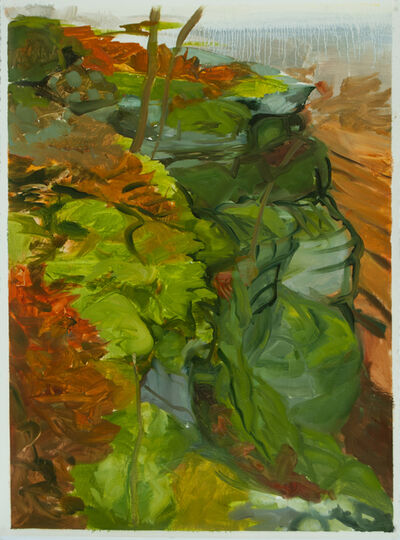 Kristin Musgnug, 'Cliff Top in Fall', 2013