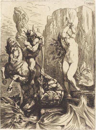 François-Nicolas Chifflart, 'Perseus and Andromeda', 1865