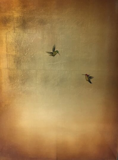 Carolyn Reynolds, 'Bronze Hummingbirds III', 2017