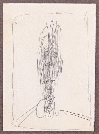 Alberto Giacometti, 'Head of a Man, Buste D'Homme', ca. 1951