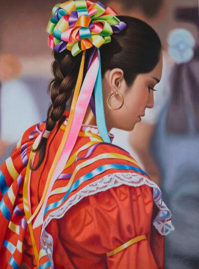 Sergio Gomez, 'Mujer Joven Con Traje Regional ', 2018