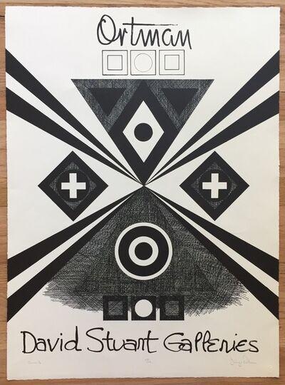 "George Earl Ortman, 'Search (""David Stuart Galleries"")', 1966"