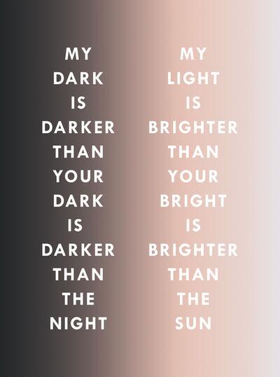 Dawn Ng, 'LIGHT DARK', 2017