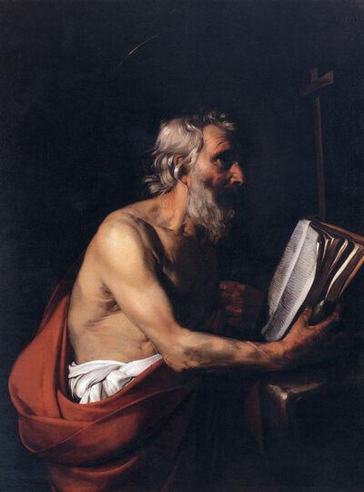 Bartolomeo Manfredi, 'Saint Jerome'