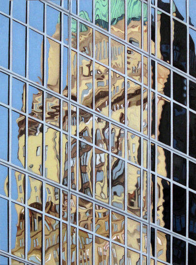 Sharon Florin, '42nd and Sixth Reflections', 2017