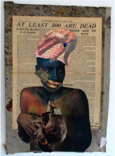 Ayanda Mabulu, 'At Least 500 Are Dead', 2016