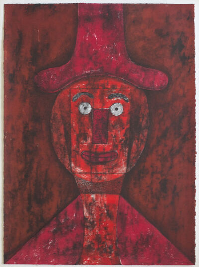 Rufino Tamayo, 'Cabeza Roja', 1975