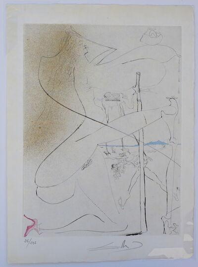 Salvador Dalí, 'La Venus aux Fourrures Woman With Crutch', 1968