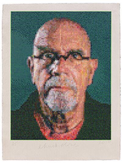 Chuck Close, 'Self Portrait', 2016