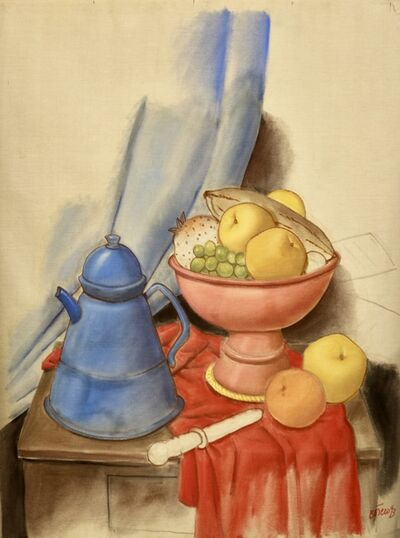 Fernando Botero, 'Still Life with Coffee Pot', 1993