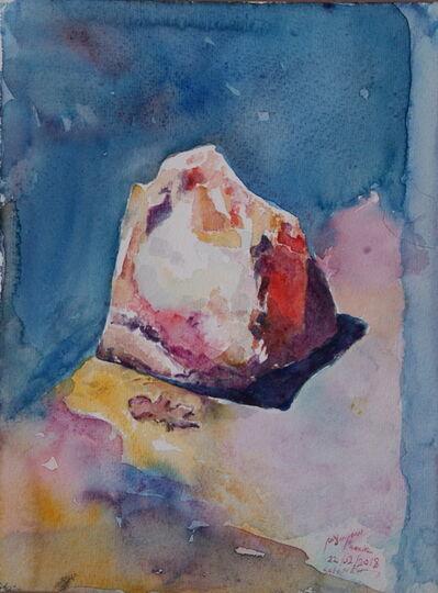 Samir Salameh, 'Stone from Ramallah', 2018