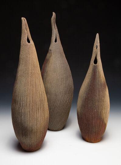 Momoko Takeshita Keane, 'Crane (set of 3)'
