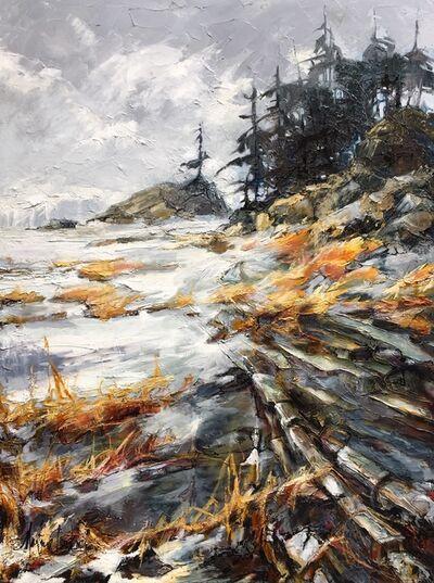 Carole Malcolm, 'Le haut rivage', 2019