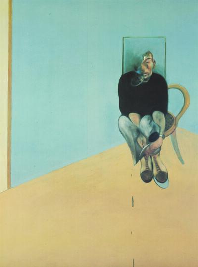 Francis Bacon, 'Study for Self Portrait 1982', 1984