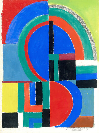 Sonia Delaunay, 'Rythme couleur', 1966